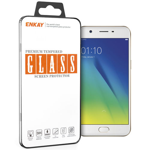 Enkay 9H Tempered Glass Screen Protector for Oppo A57
